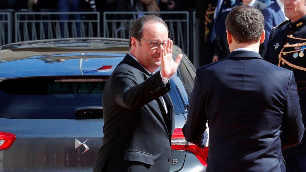 Hollande lascia l'Eliseo. Sara' tentato di restare in politica?
