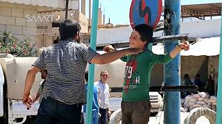 روایت کودکان سوری از داعشی ها در شهر آزادشدۀ الطبقه