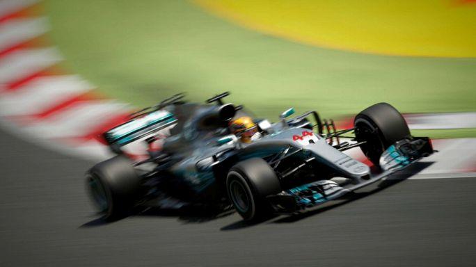 F1, Spagna: un grandissimo Hamilton batte un grande Vettel