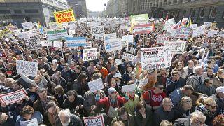 احتجاجات في موسكو ضد إزالة المساكن