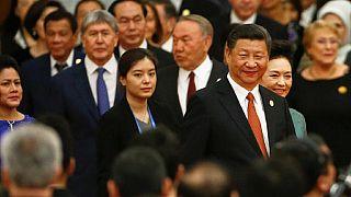 Chine-belt road plan, 124 milliards prévus
