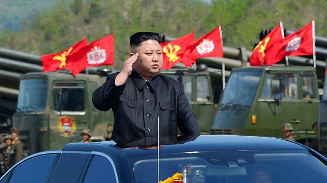 North Korean test missile 'capable of carrying nuclear warhead'