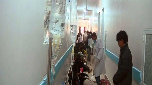 Cólera já matou dezenas no Iémen
