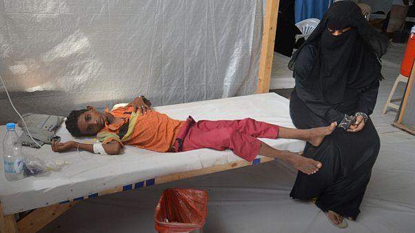 'Over 100' killed in cholera outbreak in Yemen capital Sanaa