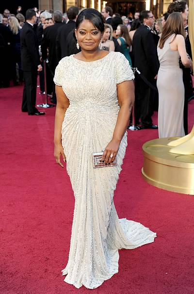 Octavia Spencer was pure elegance on the red carpet in 2012.