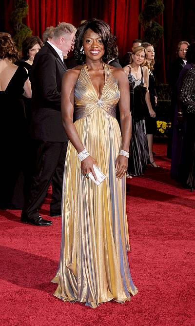 Viola Davis at the Oscars in 2009. Practically perfect in every way.
