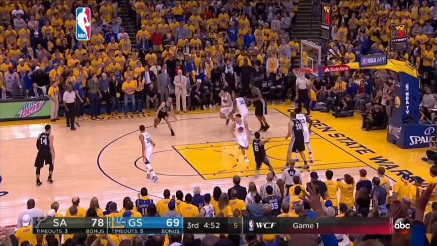 NBA : Golden State surprend les Spurs!