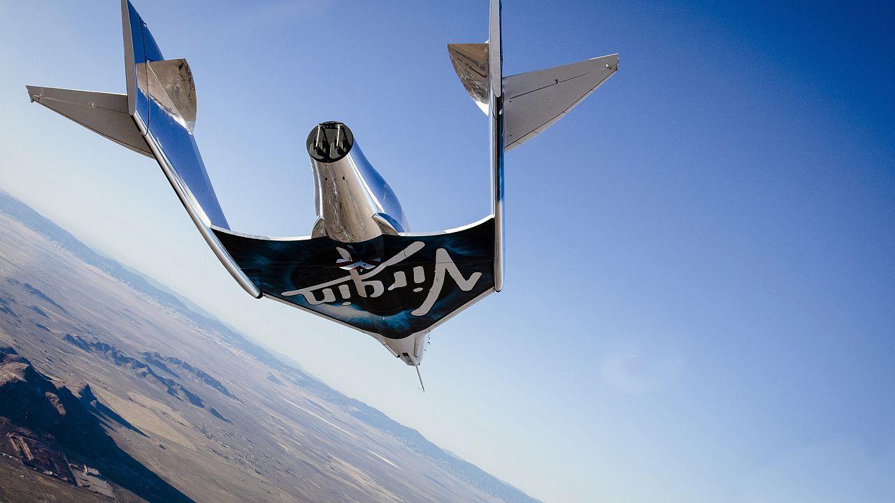 VSS Unity, first glide flight