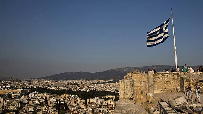 Grecia empezó el año contrayéndose