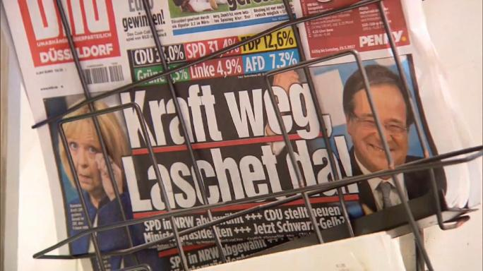 CDU de Merkel 3-SPD de Schulz 0