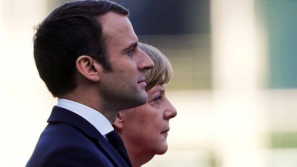 Az új francia elnök elsőként Berlinbe utazott