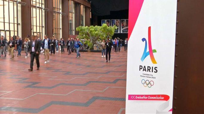 Le CIO visite les sites de Paris 2024