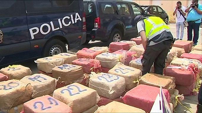 Uluslararası operasyonla 7.9 ton uyuşturucu ele geçirildi