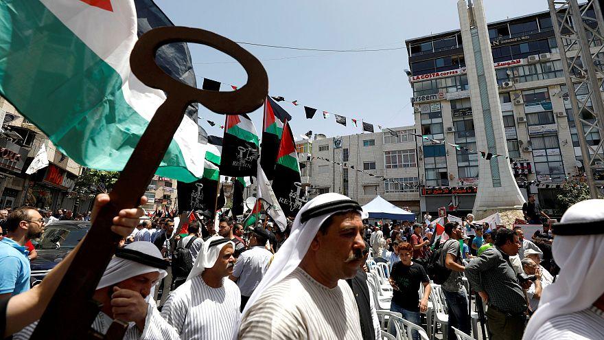 Palestinians mark 69th Nakba anniversary