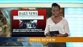 Press Review of May 16, 2017 [The Morning Call]