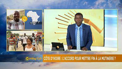 Côte d'Ivoire : accord entre le gouvernement et les mutins