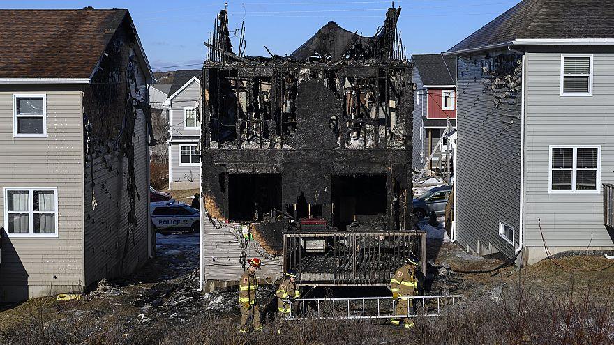 Image: Halifax fire kills refugee family