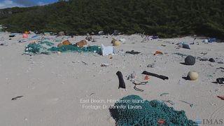 Una isla deshabitada y remota, la más contaminada del planeta