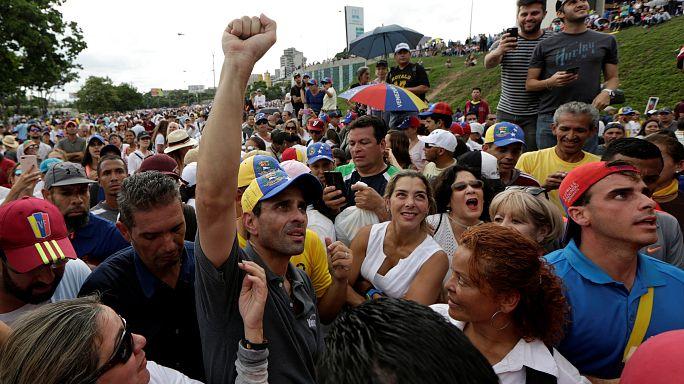 Venezuela: Un mes y medio de violentas protestas