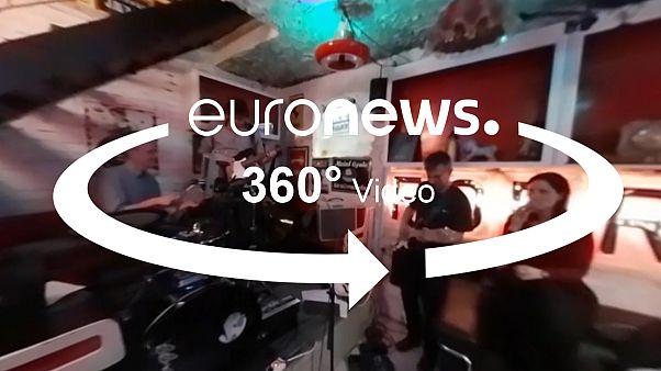 ویدئو ۳۶۰ درجه از محله «پِست» در بوداپست
