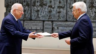 السفير الأميركي يقدم أوراق اعتماده إلى الرئيس الإسرائيلي