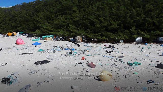 Idilli csendes-óceáni sziget a világ legszennyezettebb helye
