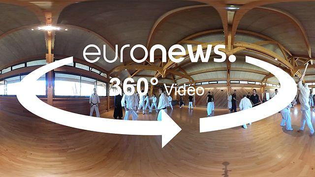 360 Video: Japon dövüş sanatı Aunkai Bujutsu Avrupa'da