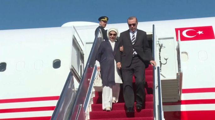 Difícil cara a cara entre Trump y Erdogan en la Casa Blanca