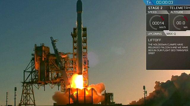 Inmarsat'ın yeni uydusu yörüngede