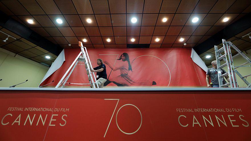 Stars descend on Cannes to celebrate Festival's 70th edition