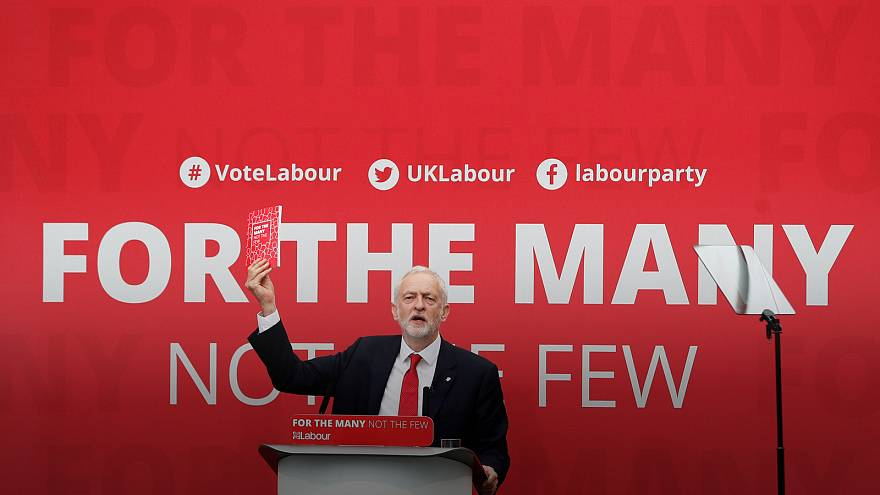 Britain's Labour party promises a vote on Brexit deal if it wins election