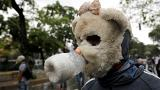Cover up: How Venezuelans mask their appearances while protesting