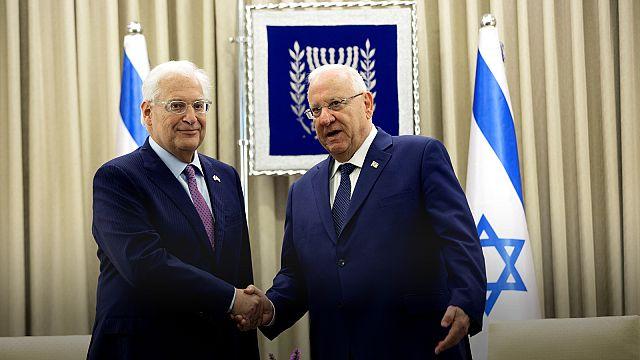 ABD'nin yeni İsrial Büyükelçisi David Friedman görevine başladı