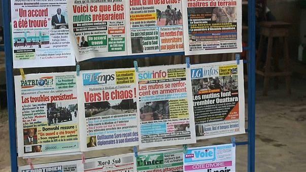 انتهاء حركة التمرد في ساحل العاج