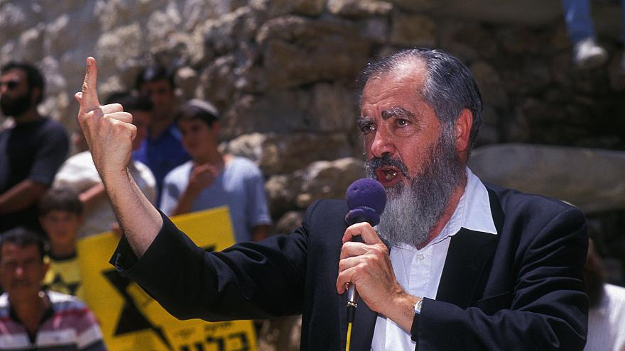 Image: Rabbi Meir Kahane in 1989