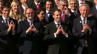 Президент Франции встретился с оценочной комиссией МОК