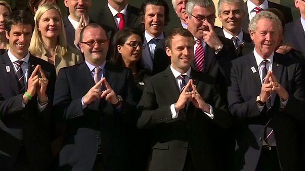 Париж-2024: комісія МОК зустрілася з новим президентом Франції