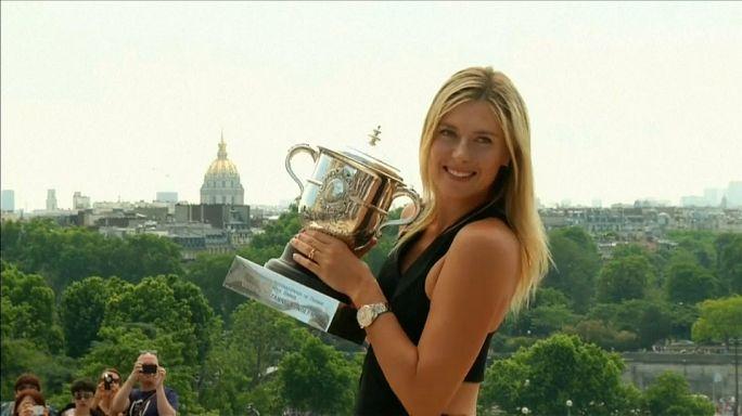 Sharapova não recebeu convite para Roland Garros
