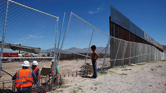 What's happened to Trump's Mexican border wall?