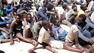 وضعیت اسفناک پناهجویان آفریقایی در گذرگاه لیبی