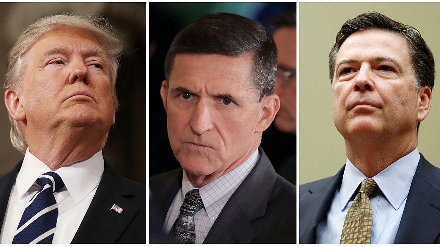 Trump pidió a Comey que cerrara investigación sobre Flynn, según el NY Times
