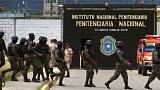 Traslado masivo de pandilleros en Honduras