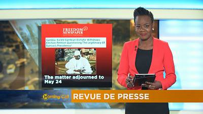 Press Review of May 17, 2017 [The Morning Call]