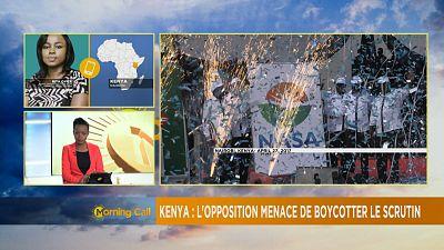 Kenya : l'opposition menace de boycotter la présidentielle