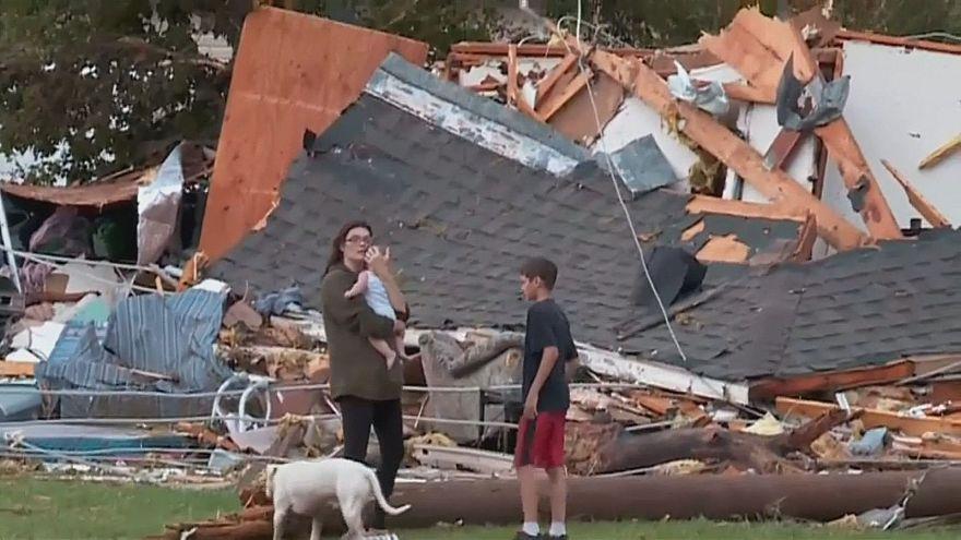 Торнадо в Висконсине и Оклахоме: двое погибших, десятки пострадавших