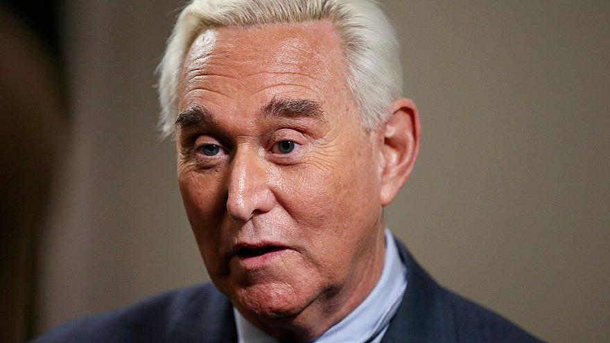 Image: Longtime Trump ally Roger Stone gives an interview to Reuters in Was