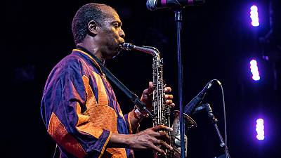 Nigerian musician Femi Kuti breaks world record after two attempts