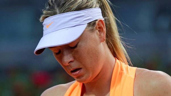 شاراپوا به تورنمنت تنیس فرانسه دعوت نشد