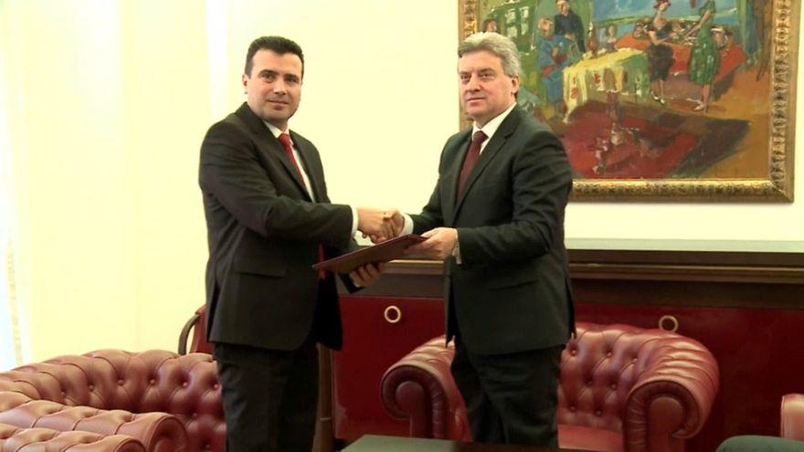 El presidente de Macedonia pone fin a la crisis política