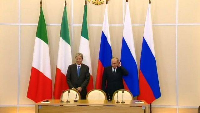"""Putin: """"Podemos entregar a EE.UU. las conversaciones entre Trump y Lavrov"""""""